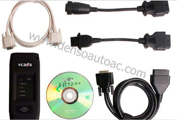 Volvo vehicle communication interface 9998555 Multi-language volvo engine diagnostic scanner Volvo VCADS V2.4