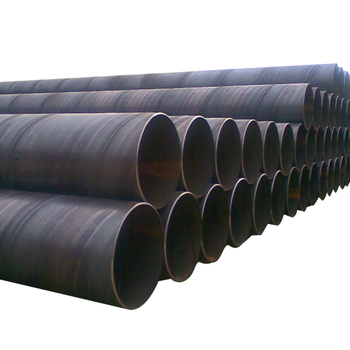 Erw Lsaw Welded Black Round Carbon Steel Pipe
