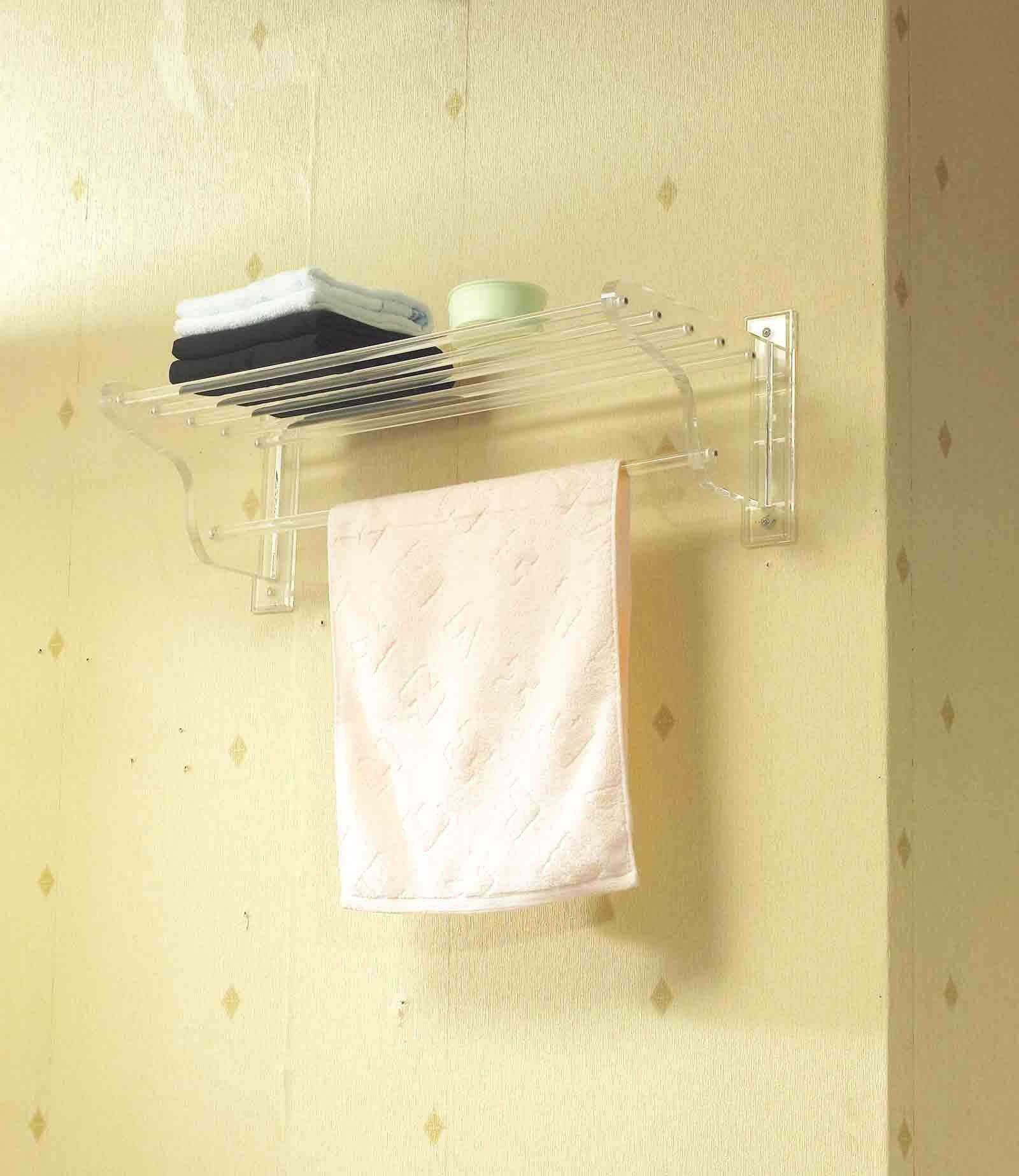 Elétrico de Banheiro de acrílico prateleira do banheiro de  #A68E25 1600x1847 Acessórios Para Banheiro De Hotel