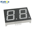 High quality KHN21203CB1F Blue color 2 digit 1.2inch big 7 segment display