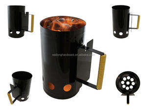 Chimney Charcoal Starter Lighting Lighter Kit for Quick BBQ Picnic Camping