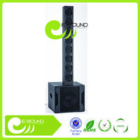 2016 newest NINGBO line array speaker box with class D amplifier
