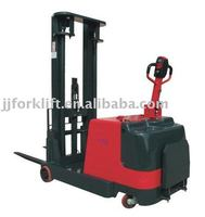 Walked electric counter-balanced forklift truck
