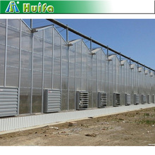 2017 Economical Polycarbonate Sheet Multi Span Industrial Greenhouse