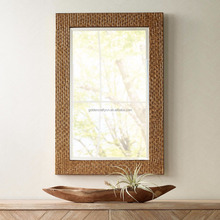 wooden design decorative wall mirror frame