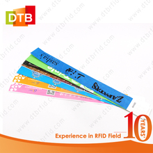 DTB RFID NFC Paper Wristbands