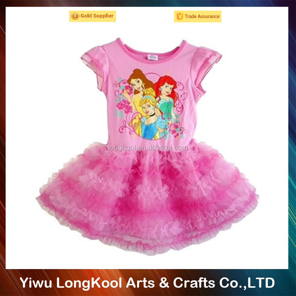 Wholesale best selling new model 2 year old girls dress lovely girls tutu dress
