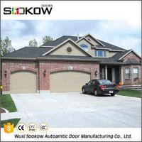 Panel garage door window kit