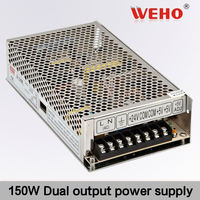 HOTSALE 150W Dual output switching power supply 15v led driver 15w