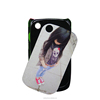 Competitive price 2d plastic sublimation phone case for Blackberry 8520