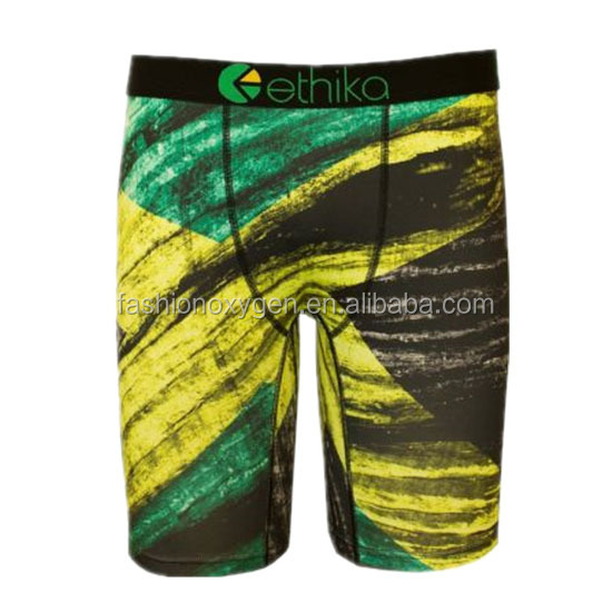 sample colorful sublimation sexy men's sport boxer