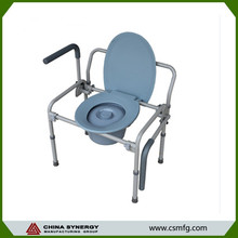 Shower commode cheap folding chair toilet seat commodity