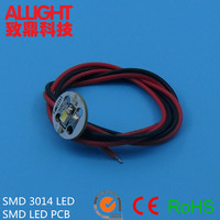 Allight aluminum led round smd led pcb board/pcb board assembly for 3014 smd white led