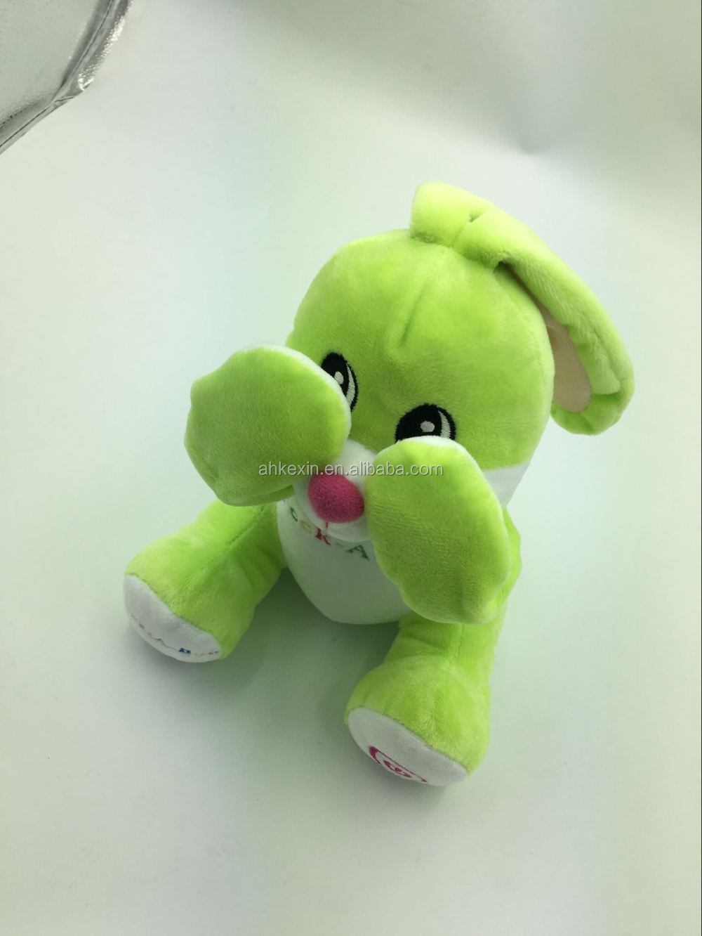 New products on china market customs mimicry talking rabbit electrical plush toys