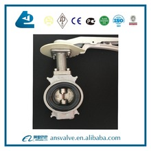 Aluminium Wafer Oil Tank Truck Butterfly Valve