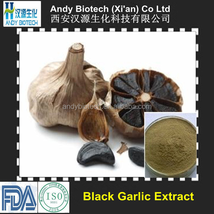 10:1 100% Pure Fermented Black Garlic Powder Extract
