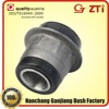 Good tensile strength and wear resistance batching plant spare parts rubber shock absorber bushes front Axle 2101-2904040
