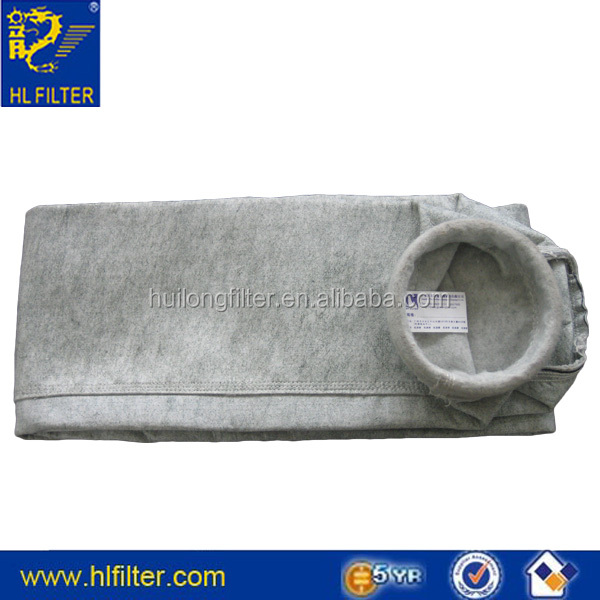 dust filter made of coton or polyester woven tissue