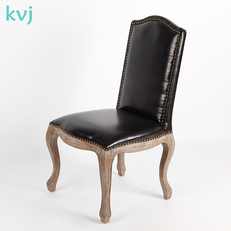 KVJ-4063 High Quality fench ghost armchair leather louis xiv chair