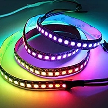 1M WS2812B 144LED 5050 RGB Individual Addressable 5V Waterproof Led strip with factory price