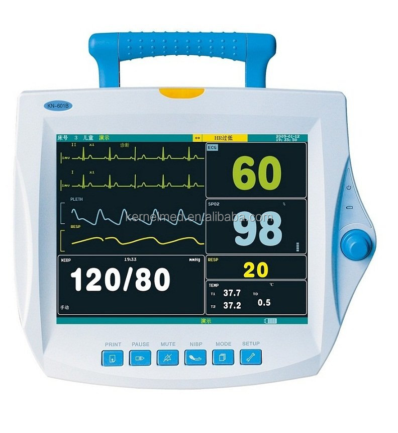 CE cheap Multi- parameter patient monitor KN-601B