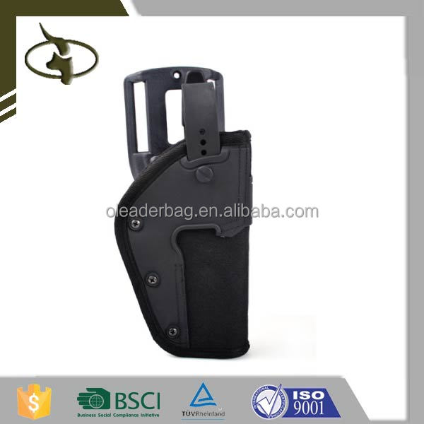 High Quality Military Gun Case Holdle Pistol Case Leather Gun Holster