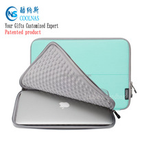 China suppier 15.6 inch neoprene laptop sleeve with zipper