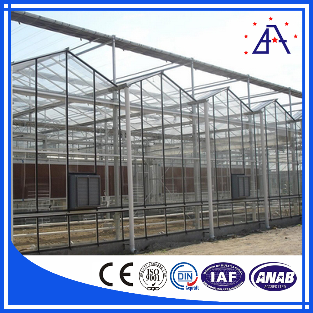 Experienced Manufacturer Of Greenhouse Aluminum Profile For Architecture