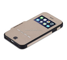 flip leather case for mobile phone, hot sale leather case for iphone 5S case