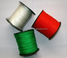 Hot Sale Colored PP Nylon Polyester Braided Twine