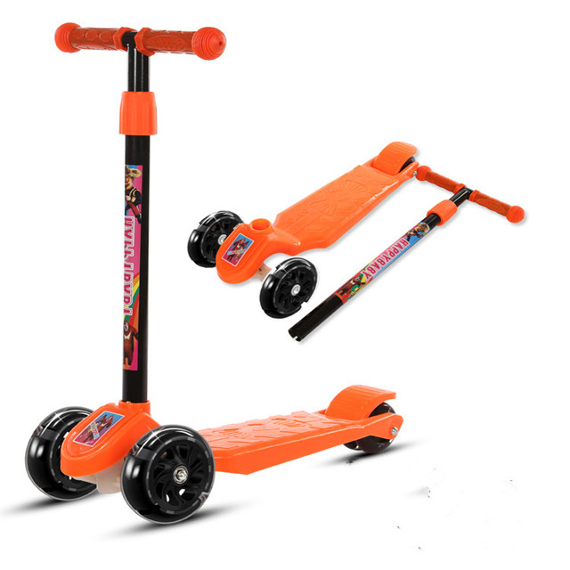 Newly design cheap price Foldable foot scooter /pedal scooter Baby Kick Scooter