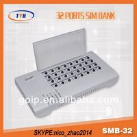 Smb32 Banking Software Development Sim Bank 32 PBX Server Software With Auto Imei Change