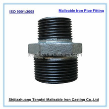 Malleable iron nipples reducing, G.I .Malleable Iron Pipe Fitting :