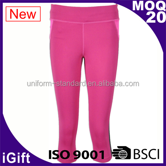 Golf women trousers/pants Polyester woven casual