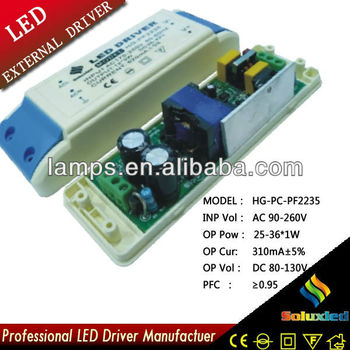 HG-PC-PF2235 LED driver lamps driver 25-36*1W