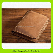 15380 Vintage good quality men <strong>wallet</strong> wholesale handmade