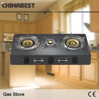 2016 competitive price good quality blue flame 2 burner gas stove prices