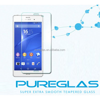 Top Mobile Phone Screen Protector Manufacturer For Xperia M4 Aqua Tempered Glass Screen Guard Film