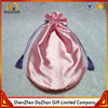Satin Material and Screen Printed Silk Bag For Hair