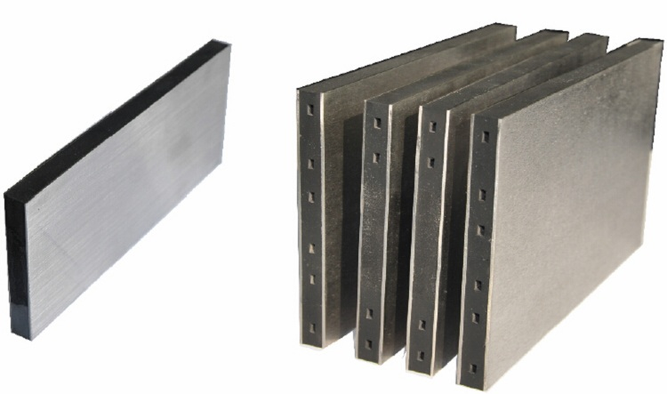 Install Free Embedded Stainless Steel Tile Movement Joint with Rubber Insert