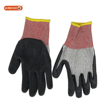 SHINEHOO Latex Rubber Original Metal Hand Work Gloves