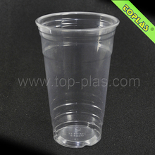 Plastic PET Cup TP-CA24 24oz Clear PET Plastic Large Cold Drink Cup