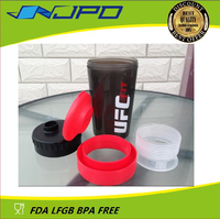 FDA Approved Plastic Sport Shaker Bottle for Energy drinking
