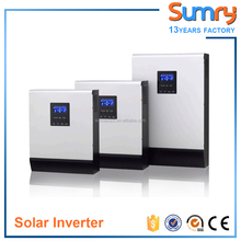5kva 4000w 48v dc to 220v ac solar power inverter with built-in MPPT solar charge controller 80A