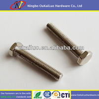 M4 Hex Fine Thread Metric Screws