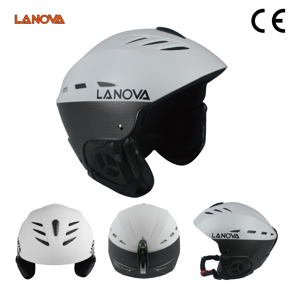 Reliable and Good slalom race ski helmet with CE certification