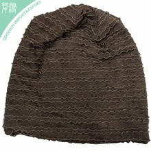 HT-117415 Loose Cheap Polyester and Cotton Plain Beanie Wholesale Price Hat