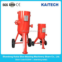 New Design Automatic sandblasting plastic wheel blast equipment for surface blasting