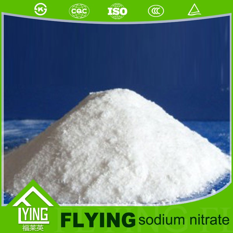China manufacture cheap price sodium nitrate food grade sodium nitrate for explosive