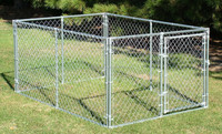 2015 hot sale Heavy-duty 1-3/'' tubular frame 11-1/2-gauge 10x10x6 dog pens